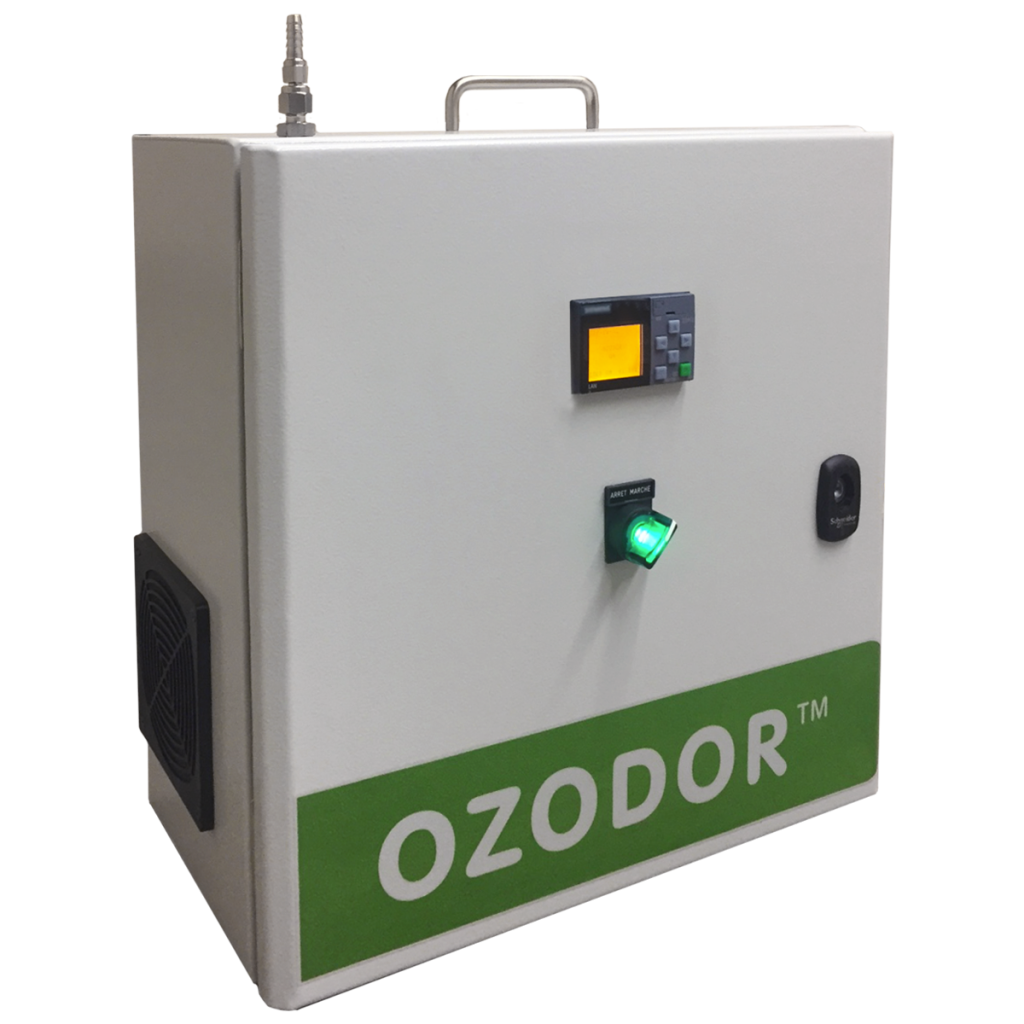 representation of the Ozodor™ technology